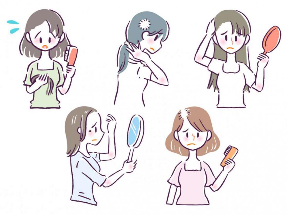毛髪(女性)60